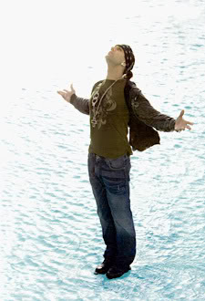 Criss Angel - Walk on water